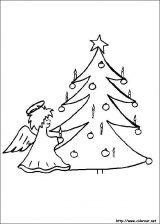Dibujos de Navidad para colorear (203/365)