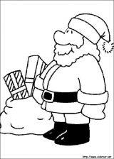 Dibujos de Navidad para colorear (210/365)