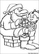 Dibujos de Navidad para colorear (213/365)