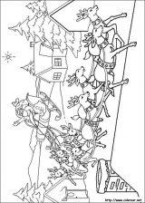 Dibujos de Navidad para colorear (217/365)