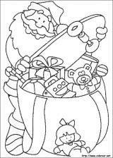 Dibujos de Navidad para colorear (228/365)