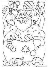 Dibujos de Navidad para colorear (229/365)