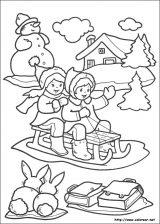 Dibujos de Navidad para colorear (232/365)