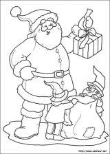 Dibujos de Navidad para colorear (233/365)