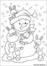 Dibujos de Navidad para colorear (236/365)
