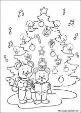 Dibujos de Navidad para colorear (237/365)