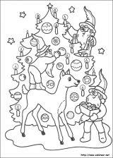 Dibujos de Navidad para colorear (238/365)