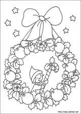 Dibujos de Navidad para colorear (239/365)