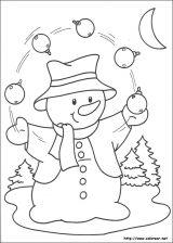 Dibujos de Navidad para colorear (240/365)