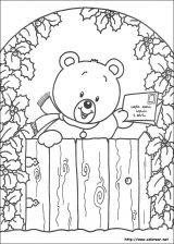 Dibujos de Navidad para colorear (241/365)