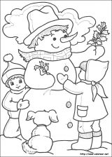 Dibujos de Navidad para colorear (242/365)