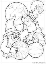 Dibujos de Navidad para colorear (243/365)