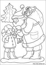 Dibujos de Navidad para colorear (244/365)