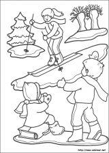 Dibujos de Navidad para colorear (245/365)