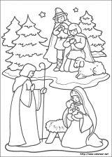 Dibujos de Navidad para colorear (247/365)