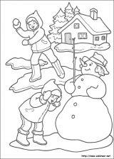 Dibujos de Navidad para colorear (248/365)