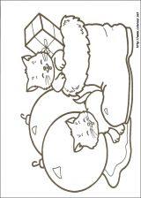 Dibujos de Navidad para colorear (252/365)