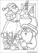 Dibujos de Navidad para colorear (254/365)
