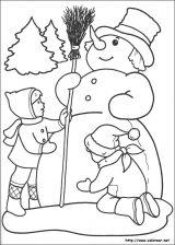Dibujos de Navidad para colorear (255/365)