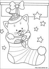 Dibujos de Navidad para colorear (256/365)