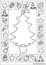 Dibujos de Navidad para colorear (258/365)