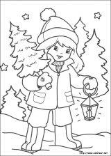 Dibujos de Navidad para colorear (260/365)