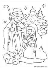 Dibujos de Navidad para colorear (261/365)
