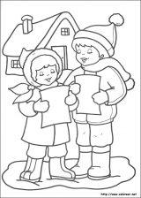 Dibujos de Navidad para colorear (262/365)