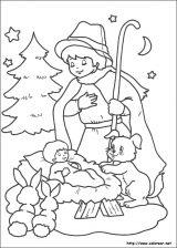 Dibujos de Navidad para colorear (263/365)
