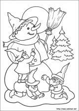 Dibujos de Navidad para colorear (264/365)