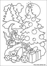 Dibujos de Navidad para colorear (265/365)
