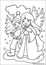 Dibujos de Navidad para colorear (266/365)