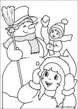 Dibujos de Navidad para colorear (269/365)