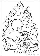 Dibujos de Navidad para colorear (271/365)
