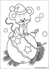 Dibujos de Navidad para colorear (272/365)