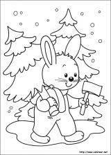 Dibujos de Navidad para colorear (273/365)