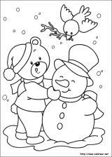 Dibujos de Navidad para colorear (275/365)