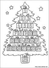 Dibujos de Navidad para colorear (276/365)