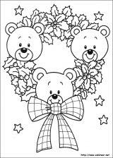 Dibujos de Navidad para colorear (277/365)