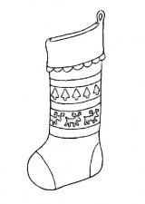 Dibujos de Navidad para colorear (279/365)