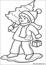 Dibujos de Navidad para colorear (281/365)