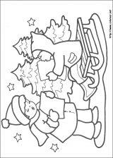 Dibujos de Navidad para colorear (285/365)