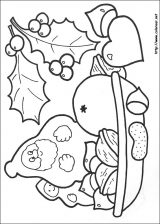 Dibujos de Navidad para colorear (292/365)