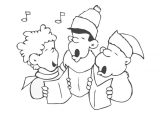 Dibujos de Navidad para colorear (309/365)