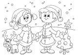 Dibujos de Navidad para colorear (323/365)