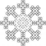 Dibujos de Navidad para colorear (324/365)