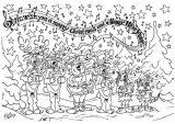 Dibujos de Navidad para colorear (326/365)
