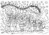 Dibujos de Navidad para colorear (327/365)