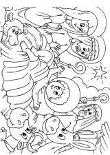 Dibujos de Navidad para colorear (337/365)