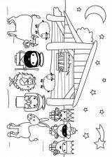 Dibujos de Navidad para colorear (339/365)